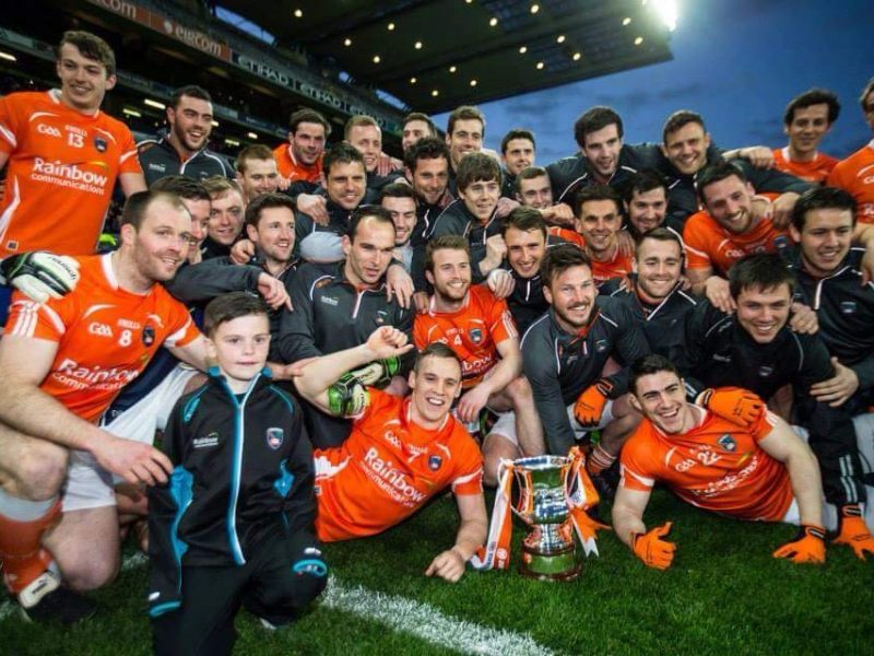 With the successful Armagh GAA team celebrating the Division 3 league title in 2018